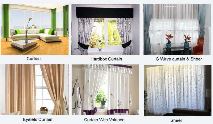 Butterfly curtain rod 2