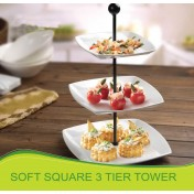 Soft Square 3 Tier Tower