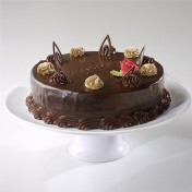 Cake Platter with Stand: 30cm