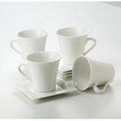 Cup & Saucer Set 8pcs